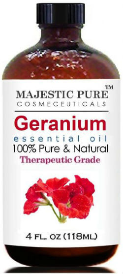 Pure Health HQ - Best Essential Oil For Wrinkles - Majestic Pure Geranium Essential Oil