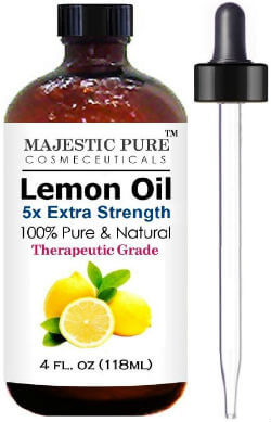 Majestic Pure Lemon Essential Oil
