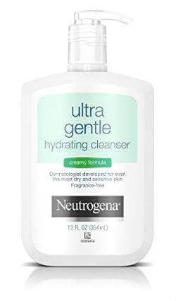 Neutrogena Ultra Gentle Hydrating Cleanser For Sensitive Skin