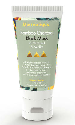 Dermatique Bamboo Charcoal Black Mask