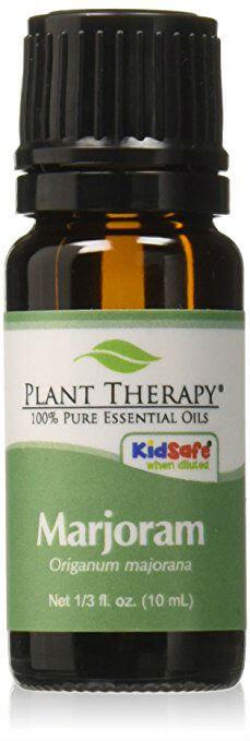 Pure Health HQ - Meilleures huiles essentielles pour les maux de tête et les migraines - Thérapie végétale Marjolaine douce de qualité thérapeutique