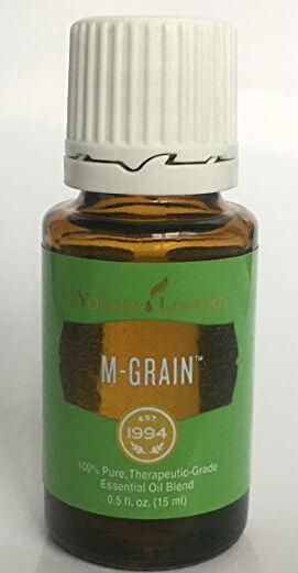 Pure Health HQ - Les meilleures huiles essentielles pour les maux de tête et les migraines - Young Living M-Grain Oil Essential