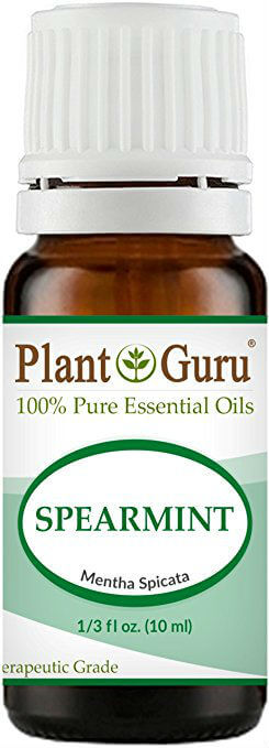 Pure Health HQ - Best Essential Oils for Weight Loss - Plant Guru Spearmint Essential Oil