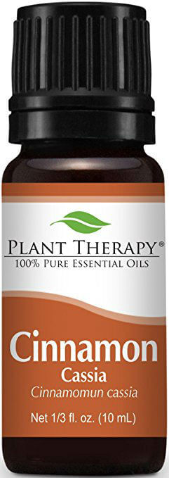 Pure Health - Best Essential Oils for Weight Loss - Plant Therapy Cinnamon Cassia Essential Oil