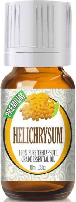 Best Essential Oil for Inflammation - Pure Health HQ - Healing Solutions Helichrysum
